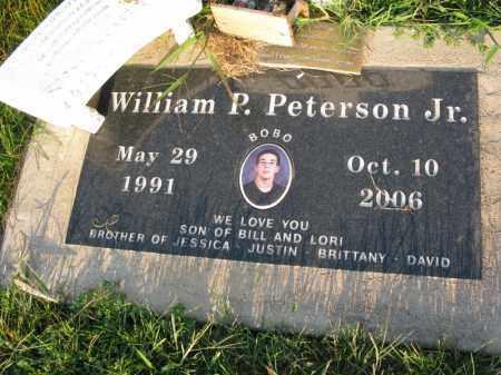 PETERSON, WILLIAM P. (BOBO) - Burt County, Nebraska | WILLIAM P. (BOBO) PETERSON - Nebraska Gravestone Photos