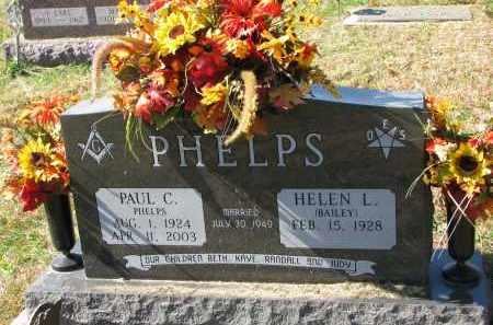 PHELPS, HELEN L. - Burt County, Nebraska | HELEN L. PHELPS - Nebraska Gravestone Photos