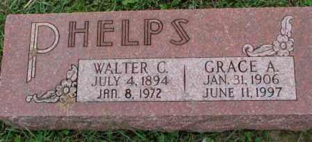 PHELPS, WALTER C. - Burt County, Nebraska | WALTER C. PHELPS - Nebraska Gravestone Photos