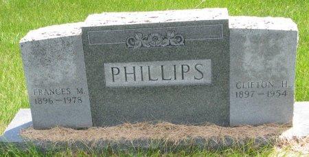 PHILLIPS, FRANCES M. - Burt County, Nebraska | FRANCES M. PHILLIPS - Nebraska Gravestone Photos