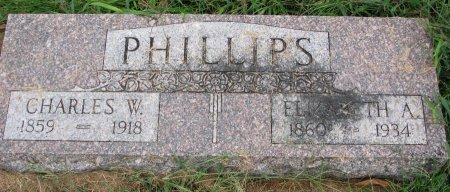 PHILLIPS, CHARLES W. - Burt County, Nebraska | CHARLES W. PHILLIPS - Nebraska Gravestone Photos