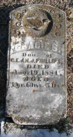 PHILLIPS, GRACIE S. - Burt County, Nebraska   GRACIE S. PHILLIPS - Nebraska Gravestone Photos