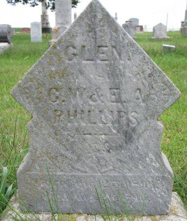PHILLIPS, GLEN - Burt County, Nebraska | GLEN PHILLIPS - Nebraska Gravestone Photos