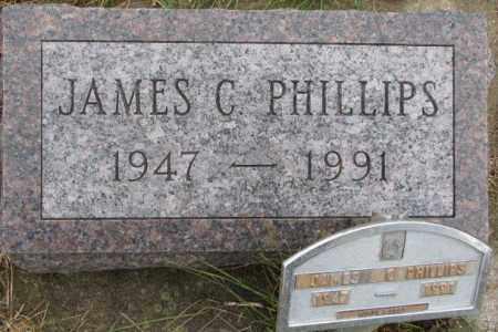 PHILLIPS, JAMES C. - Burt County, Nebraska | JAMES C. PHILLIPS - Nebraska Gravestone Photos
