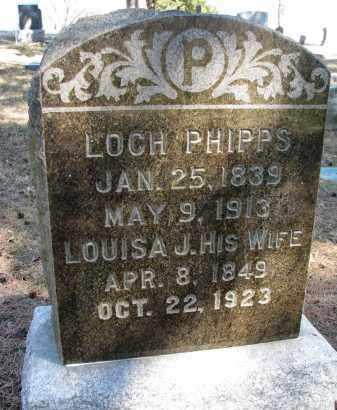 PHIPPS, LOUISA J. - Burt County, Nebraska   LOUISA J. PHIPPS - Nebraska Gravestone Photos
