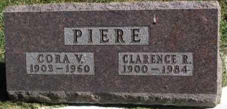PIERE, CORA V. - Burt County, Nebraska   CORA V. PIERE - Nebraska Gravestone Photos