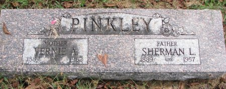 PINKLEY, SHERMAN L. - Burt County, Nebraska | SHERMAN L. PINKLEY - Nebraska Gravestone Photos