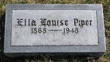 PIPER, ELLA LOUISE - Burt County, Nebraska | ELLA LOUISE PIPER - Nebraska Gravestone Photos