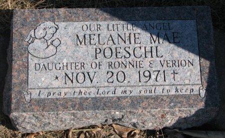 POESCHL, MELANIE MAE - Burt County, Nebraska   MELANIE MAE POESCHL - Nebraska Gravestone Photos