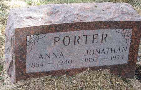 HENNIG PORTER, ANNA AMELIA - Burt County, Nebraska | ANNA AMELIA HENNIG PORTER - Nebraska Gravestone Photos