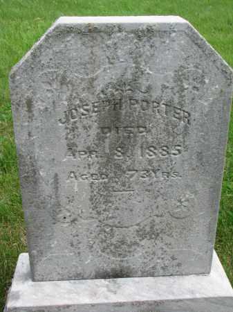 PORTER, JOSEPH - Burt County, Nebraska | JOSEPH PORTER - Nebraska Gravestone Photos