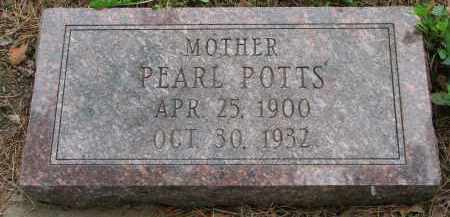 POTTS, PEARL - Burt County, Nebraska | PEARL POTTS - Nebraska Gravestone Photos