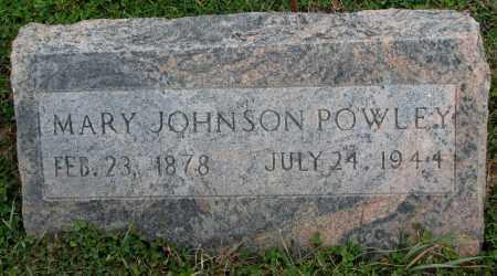 JOHNSON POWLEY, MARY - Burt County, Nebraska | MARY JOHNSON POWLEY - Nebraska Gravestone Photos