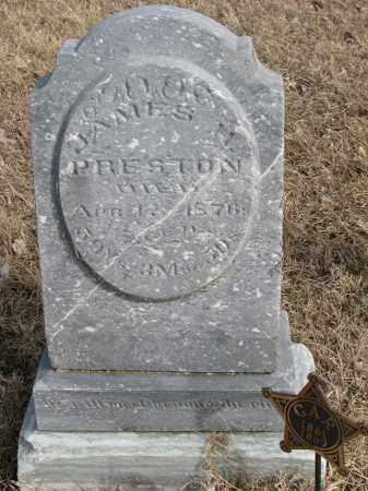 PRESTON, JAMES H. - Burt County, Nebraska | JAMES H. PRESTON - Nebraska Gravestone Photos