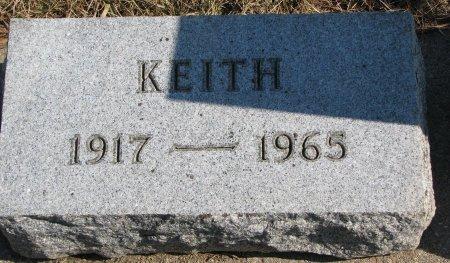 PRESTON, KEITH (FOOT STONE) - Burt County, Nebraska | KEITH (FOOT STONE) PRESTON - Nebraska Gravestone Photos