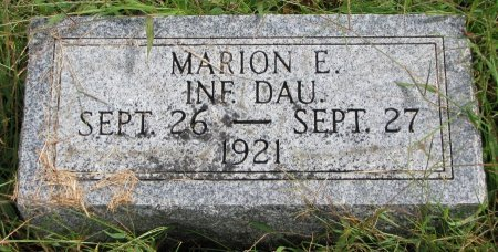 PRESTON, MARION E. - Burt County, Nebraska | MARION E. PRESTON - Nebraska Gravestone Photos