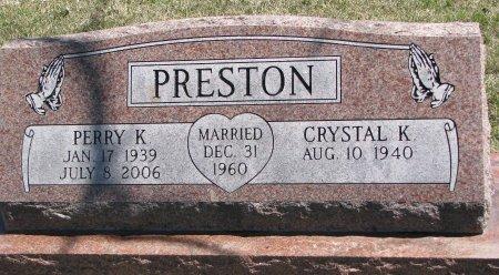 PRESTON, PERRY K. - Burt County, Nebraska | PERRY K. PRESTON - Nebraska Gravestone Photos