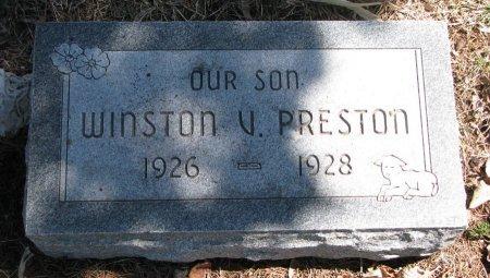 PRESTON, WINSTON V. - Burt County, Nebraska | WINSTON V. PRESTON - Nebraska Gravestone Photos