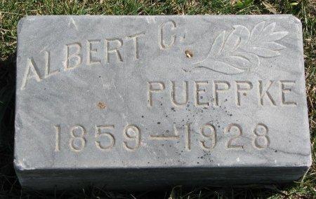 PUEPPKE, ALBERT C. - Burt County, Nebraska | ALBERT C. PUEPPKE - Nebraska Gravestone Photos