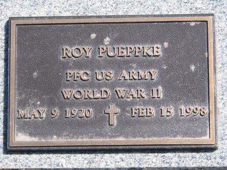 PUEPPKE, ROY (MILITARY) - Burt County, Nebraska | ROY (MILITARY) PUEPPKE - Nebraska Gravestone Photos