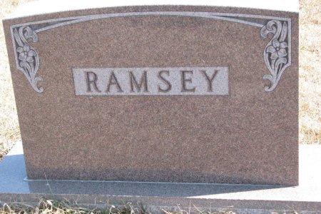 RAMSEY, *FAMILY MONUMENT - Burt County, Nebraska | *FAMILY MONUMENT RAMSEY - Nebraska Gravestone Photos
