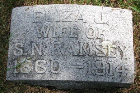 RAMSEY, ELIZA J. - Burt County, Nebraska | ELIZA J. RAMSEY - Nebraska Gravestone Photos