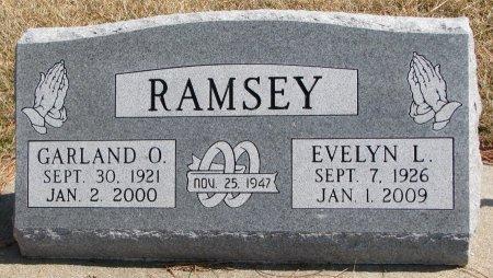 RAMSEY, GARLAND O. - Burt County, Nebraska | GARLAND O. RAMSEY - Nebraska Gravestone Photos
