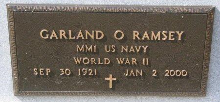 RAMSEY, GARLAND O. (MILITARY) - Burt County, Nebraska | GARLAND O. (MILITARY) RAMSEY - Nebraska Gravestone Photos