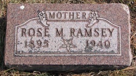 BAUCHER RAMSEY, ROSE M. - Burt County, Nebraska | ROSE M. BAUCHER RAMSEY - Nebraska Gravestone Photos