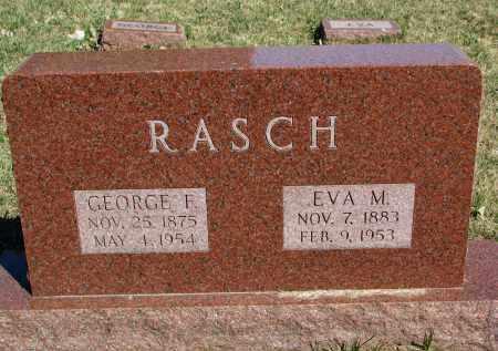 RASCH, EVA M. - Burt County, Nebraska   EVA M. RASCH - Nebraska Gravestone Photos