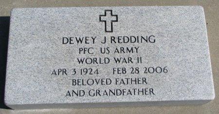 REDDING, DEWEY J. - Burt County, Nebraska | DEWEY J. REDDING - Nebraska Gravestone Photos