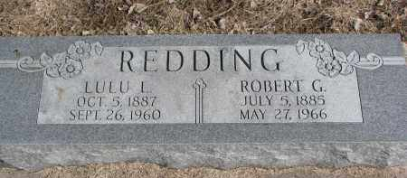 REDDING, ROBERT G. - Burt County, Nebraska   ROBERT G. REDDING - Nebraska Gravestone Photos