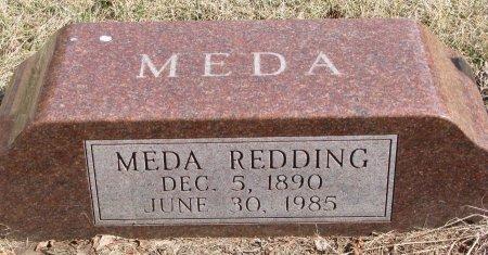 REDDING, MEDA - Burt County, Nebraska | MEDA REDDING - Nebraska Gravestone Photos