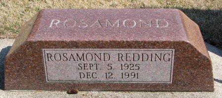 REDDING, ROSAMOND - Burt County, Nebraska | ROSAMOND REDDING - Nebraska Gravestone Photos