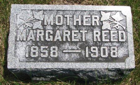 REED, MARGARET - Burt County, Nebraska | MARGARET REED - Nebraska Gravestone Photos