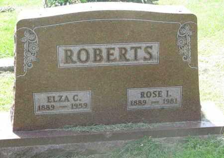ROBERTS, ELZA C. - Burt County, Nebraska | ELZA C. ROBERTS - Nebraska Gravestone Photos