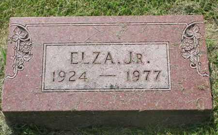 ROBERTS, ELZA JR. - Burt County, Nebraska | ELZA JR. ROBERTS - Nebraska Gravestone Photos