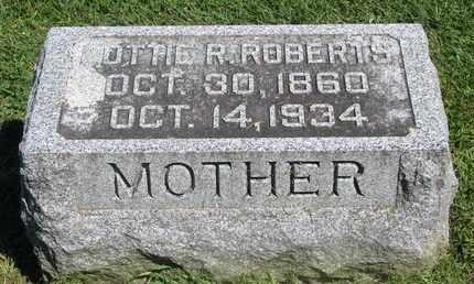 ROBERTS, LOTTIE R. - Burt County, Nebraska | LOTTIE R. ROBERTS - Nebraska Gravestone Photos