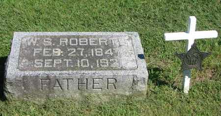 ROBERTS, W.S. - Burt County, Nebraska | W.S. ROBERTS - Nebraska Gravestone Photos