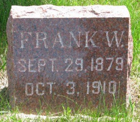 TAYLOR, FRANK W. - Burt County, Nebraska | FRANK W. TAYLOR - Nebraska Gravestone Photos