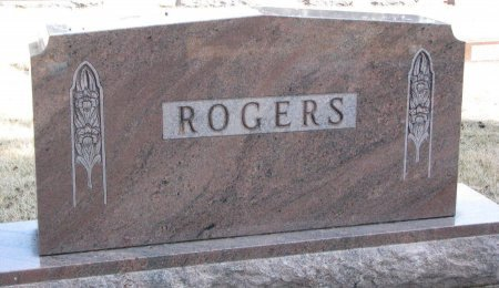 ROGERS, *FAMILY MONUMENT - Burt County, Nebraska | *FAMILY MONUMENT ROGERS - Nebraska Gravestone Photos