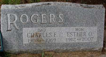 ROGERS, ESTHER O. - Burt County, Nebraska | ESTHER O. ROGERS - Nebraska Gravestone Photos