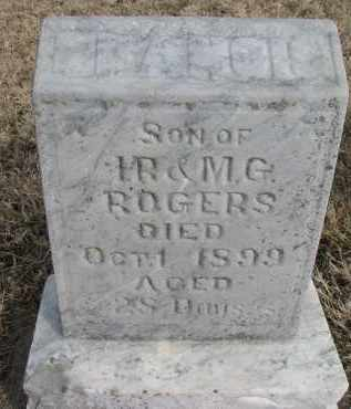 ROGERS, FRANCIS - Burt County, Nebraska   FRANCIS ROGERS - Nebraska Gravestone Photos