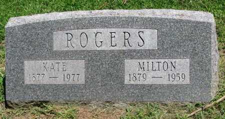 ROGERS, MILTON PITT - Burt County, Nebraska | MILTON PITT ROGERS - Nebraska Gravestone Photos