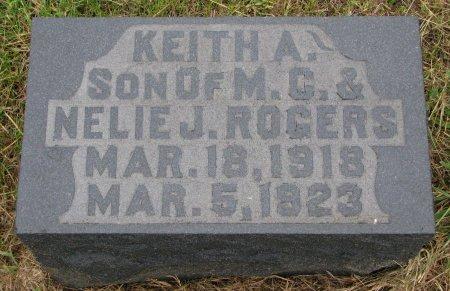 ROGERS, KEITH A. - Burt County, Nebraska | KEITH A. ROGERS - Nebraska Gravestone Photos