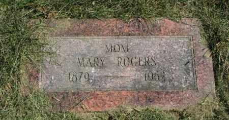 ROGERS, MARY - Burt County, Nebraska | MARY ROGERS - Nebraska Gravestone Photos