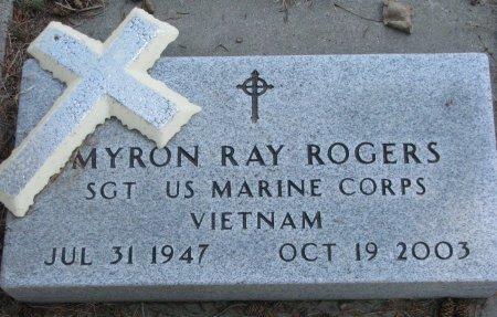 ROGERS, MYRON RAY - Burt County, Nebraska | MYRON RAY ROGERS - Nebraska Gravestone Photos