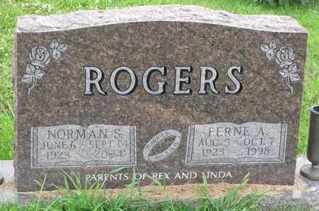 ROGERS, NORMAN S. - Burt County, Nebraska | NORMAN S. ROGERS - Nebraska Gravestone Photos