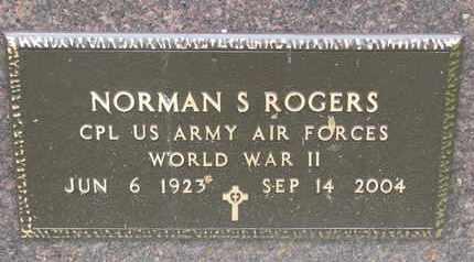 ROGERS, NORMAN S. (MILITARY) - Burt County, Nebraska | NORMAN S. (MILITARY) ROGERS - Nebraska Gravestone Photos