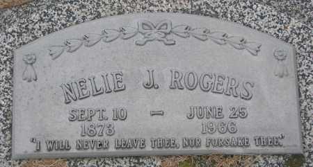 ROGERS, NELIE JENNETE - Burt County, Nebraska | NELIE JENNETE ROGERS - Nebraska Gravestone Photos